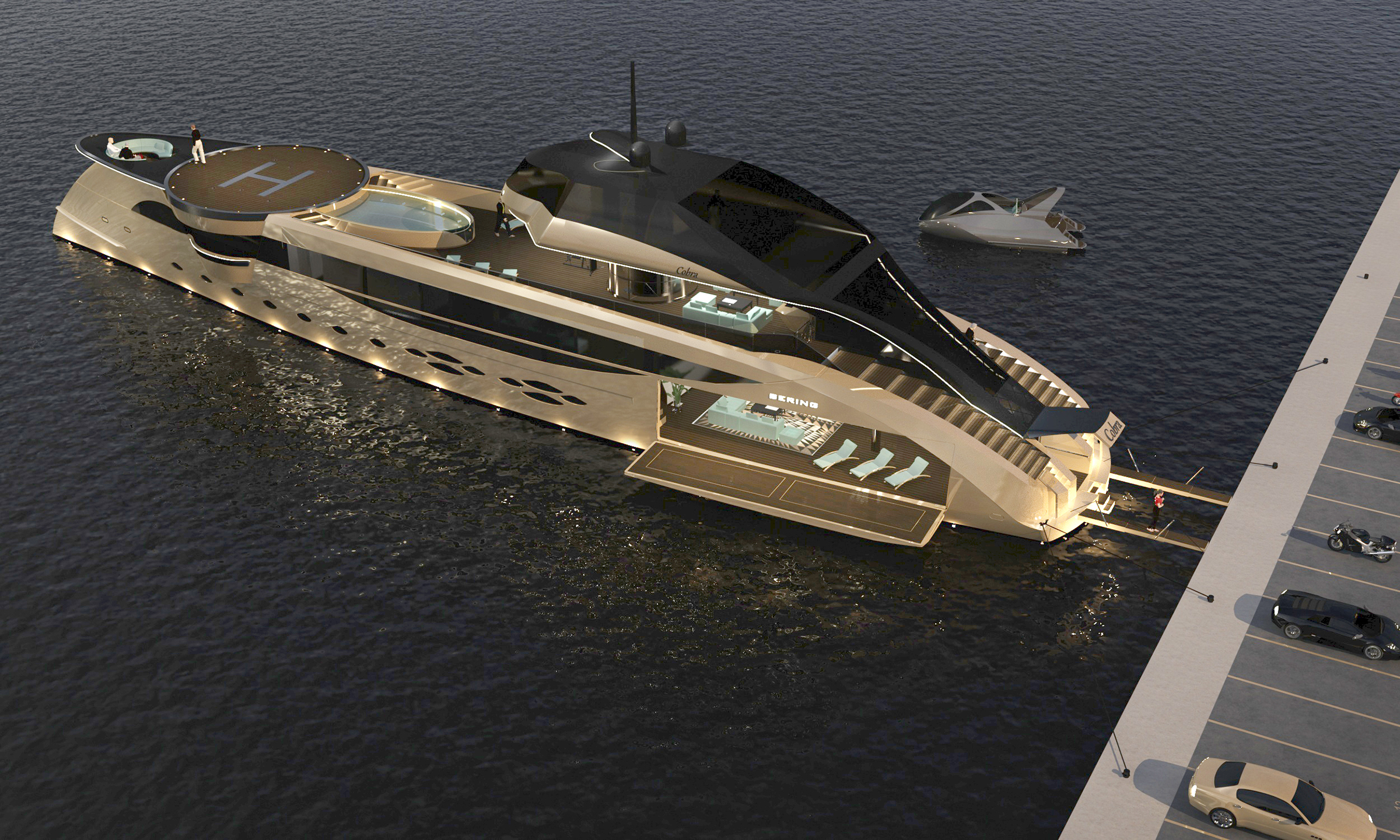 The future is now: Bering Yachts introduces the Cobra concept